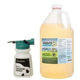 Hose Sprayer with 1 Gallon Natural Mosquito Killer & Repellent Concentrate Combo
