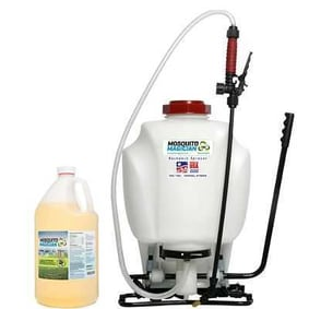 Pump Up Backpack Sprayer - 1 Gal Mosquito Killer Repellent Combo