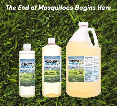 Mosquito Magician All Natural Mosquito Repellent